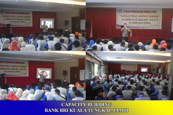 CAPACITY BUILDING BANK BRI KUALA TUNGKAL JAMBI