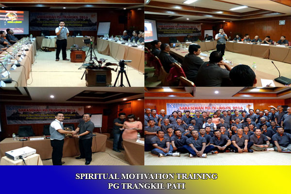 SPIRITUAL MOTIVATION TRAINING PG TRANGKIL