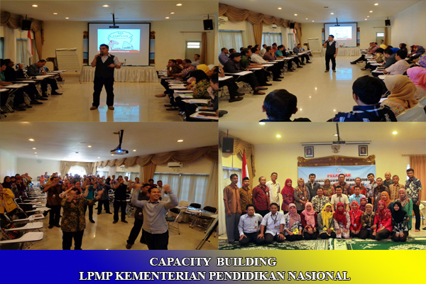 CAPACITY BUILDING LPMP KEMENDIKNAS